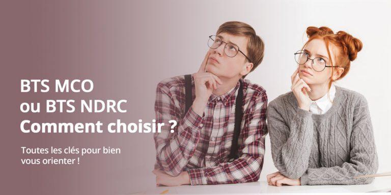 BTS MCO ou NDRC : quelles différences ?
